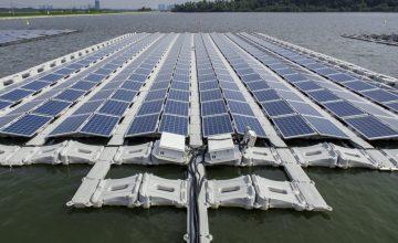 ABB uszó napelem
