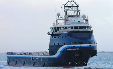 irányított teherhajó