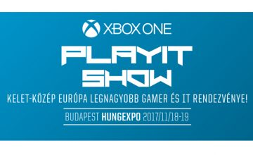 PlayIT játékkiállítás Hungexpo 2017