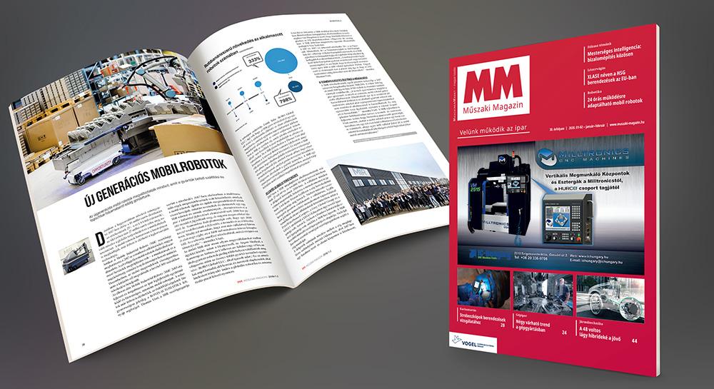 MM Műszaki Magazin bemutatkozó lapszám