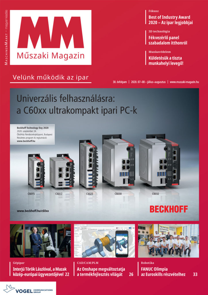 MM Műszaki Magazin 2020-7-8 lapszám