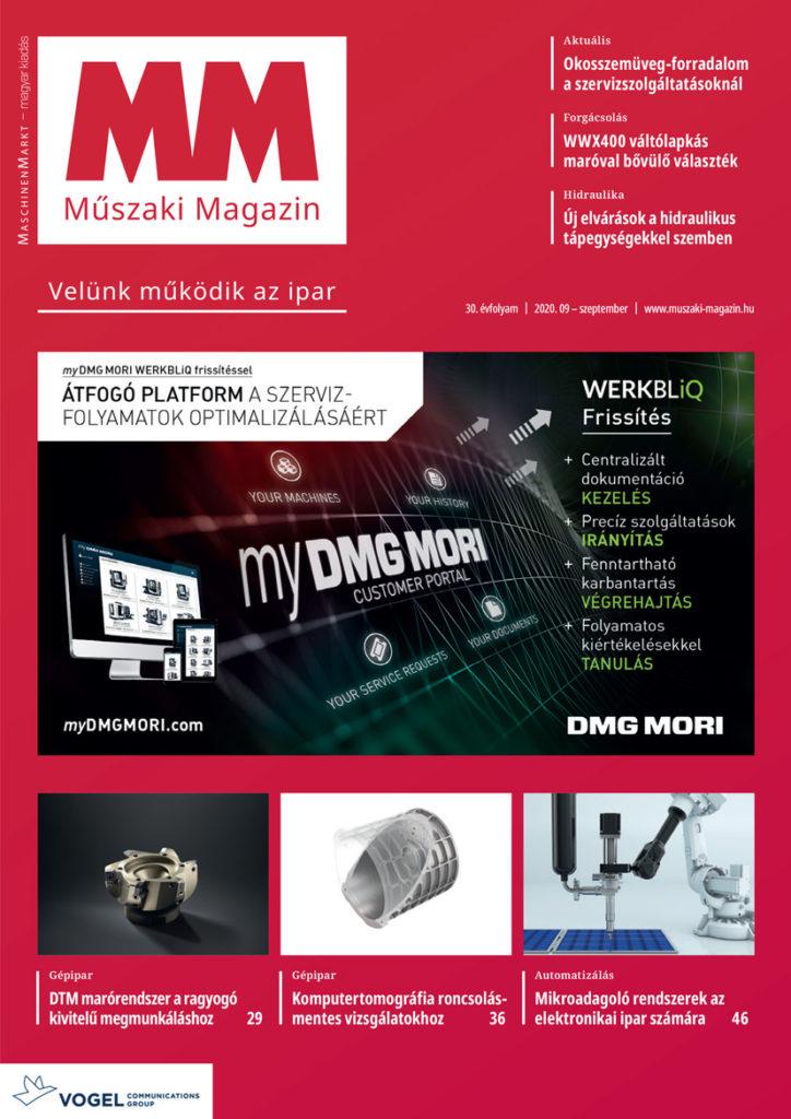 MM Műszaki Magazin 2020/9 szeptemberi lapszám