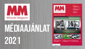 Műszaki Magazin médiaajánlat 2021