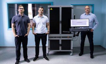 ultramodern lézergravírozó gép