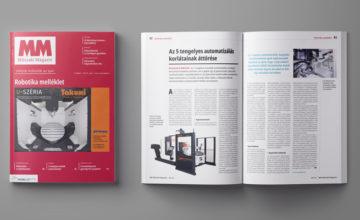 Robotika melléklet Műszaki Magazin 2021. június lapszám