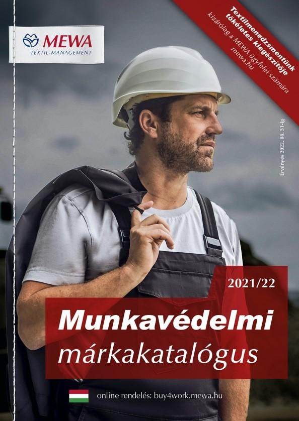 MEWA márkakatalógus 2021 - 2022