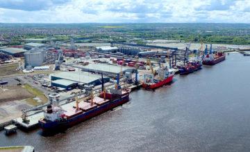 Tyne kikötője siemens