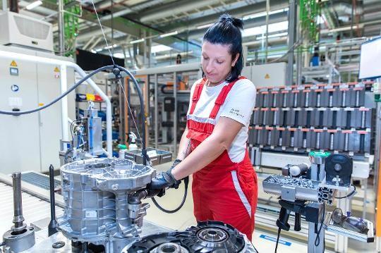 Audi Hungaria: 250.000 e-motor Győrből a világnak